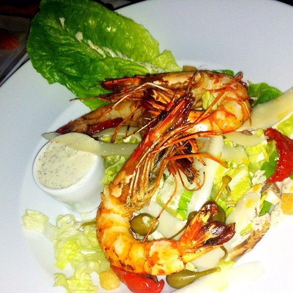 Caesar Salad With Grilled Prawn @ Alcazar
