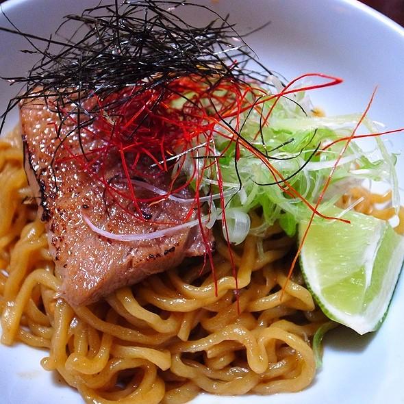 Spicy Tuna Mazemen @ Yuji Ramen