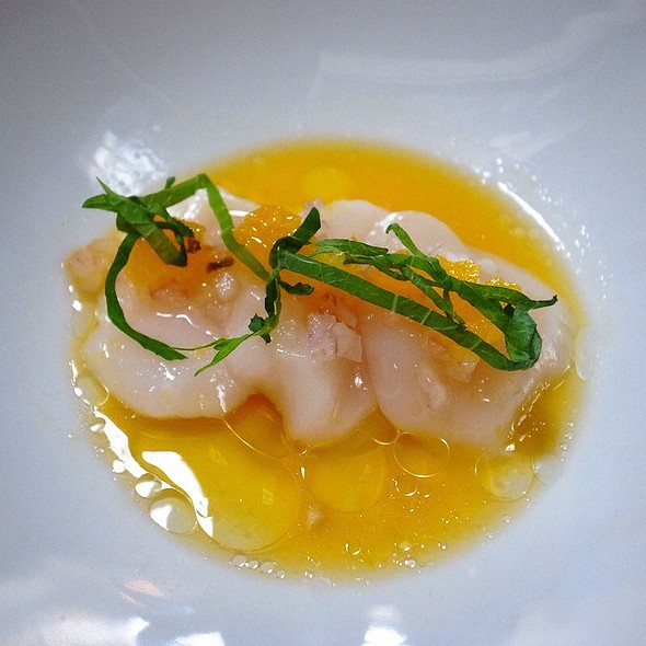 Scallop Orange Ceviche @ Yuji Ramen