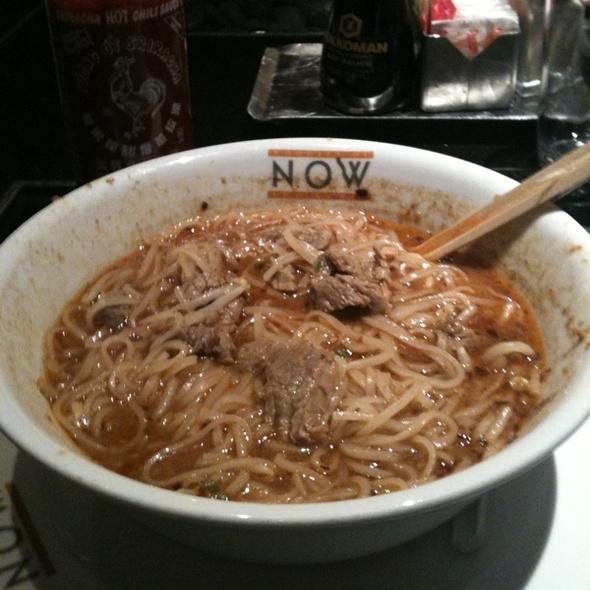 Sa Cha Beef Noodle @ Borgata Casino/Hotel