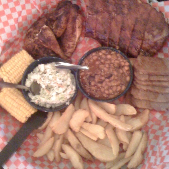 All-American BBQ Feast @ Famous Dave's