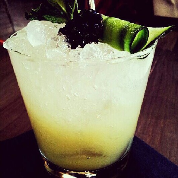 Cucumber, Lime and Ginger Non-Alcoholic Drink - Playa, Los Angeles, CA