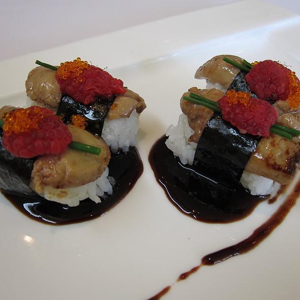 Foie Gras Sushi @ Kabuto Sushi