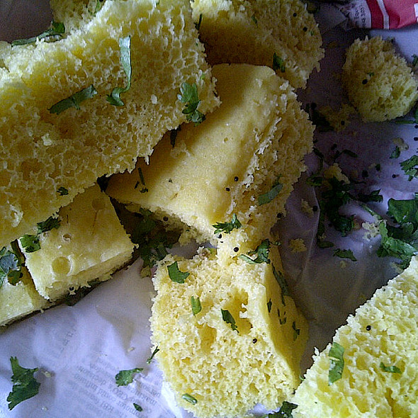 Dhokla @ New India Sweet Mart
