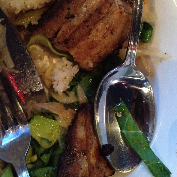 24Hr Pork Belly Rice Bowl @ Hawker Fare