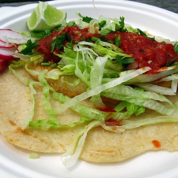 Fish Taco @ La Chiquita Taco Truck