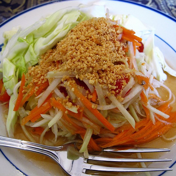 Papaya Salad @ Annie's Cambodian Cuisine