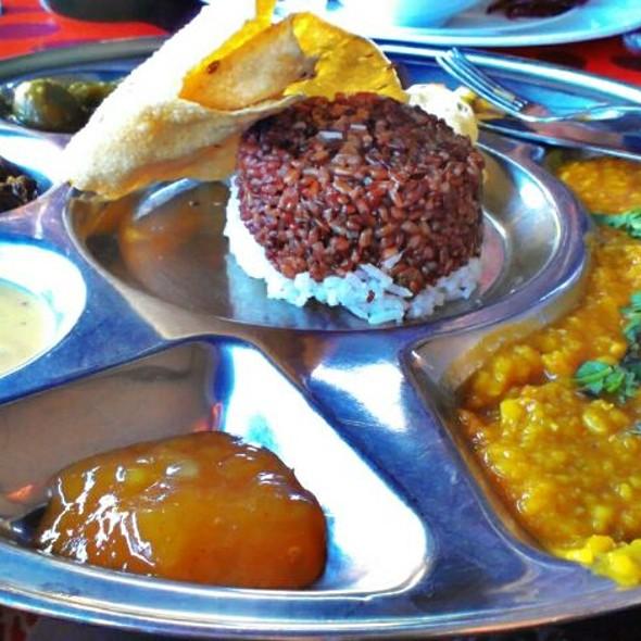 Indian Thali @ Restaurang Babajan
