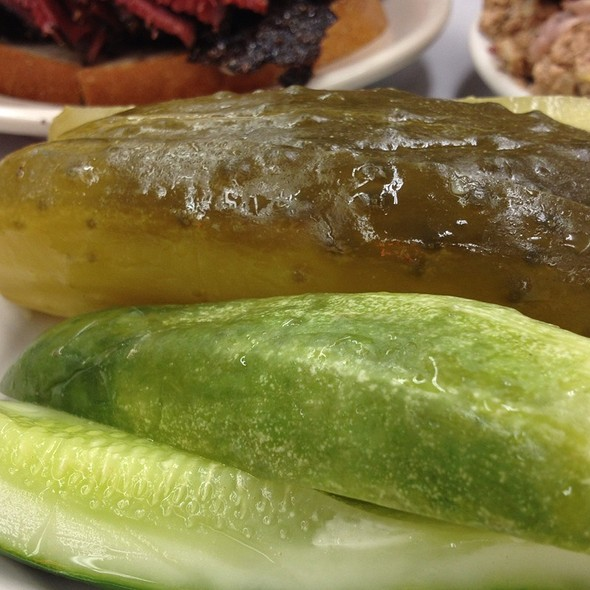 Pickles @ Katz's Delicatessen Inc