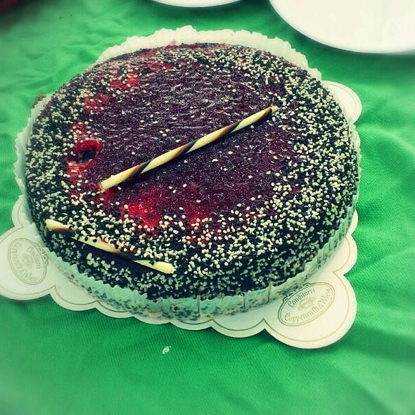 Stracciatella Cherry Cake @ Donauinsel