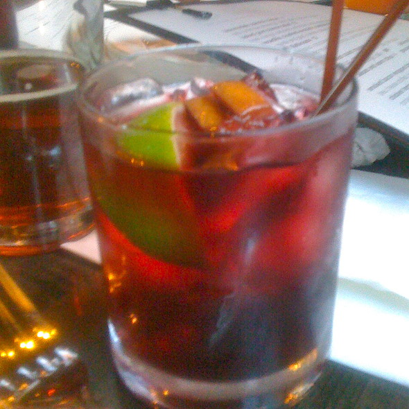 house made sangria @ Lola Gaspar