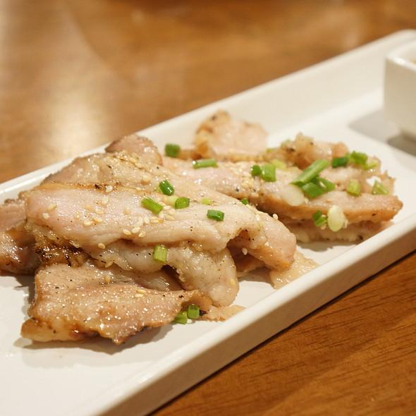 Grilled Pork Neck @ Japan I LARB You