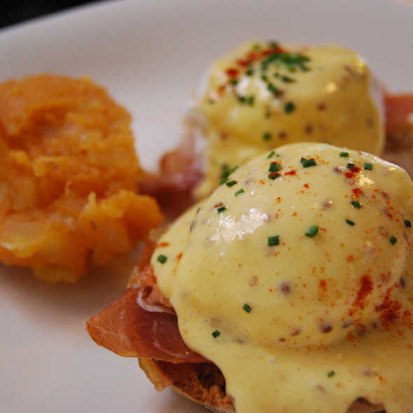 Prosciutto Poached Eggs - The House in Gramercy Park, New York, NY