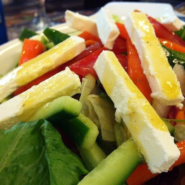 Gardigana Salad With Feta Cheese