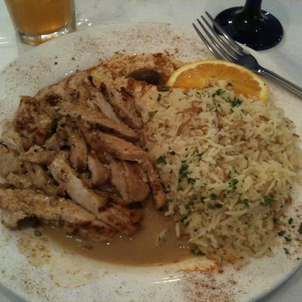 Chicken Shwarma @ Phoenicia Gourmet Cuisine