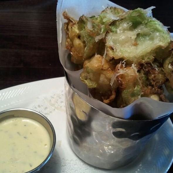 tempura brussels sprouts @ Nosh