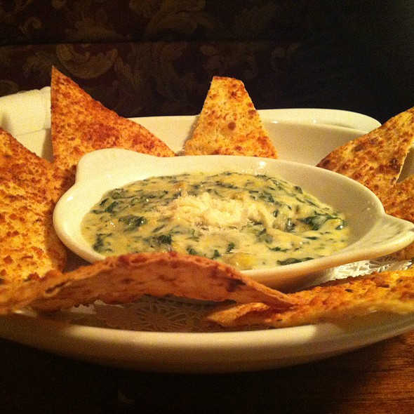 Spinach And Artichoke Dip @ Brio Tuscan Grille