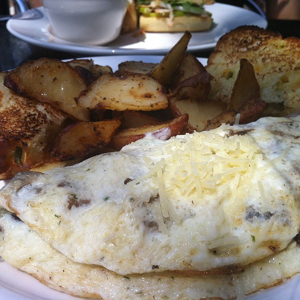 Wild Mushroom Omelette with Parmesan and Herb Ricotta  @ Toast Birmingham