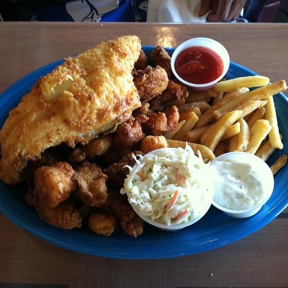Jack Mackerel's Platter @ Jack Mackerel's Island Grill