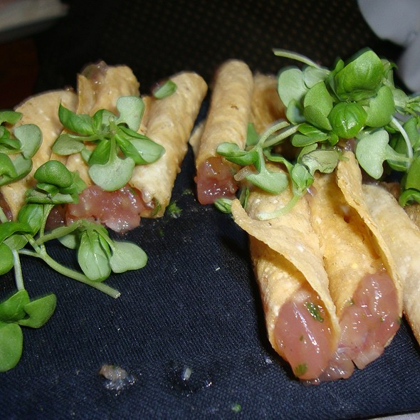 Mini Tuna Taquitos @ The Fairmont Olympic Hotel Seattle
