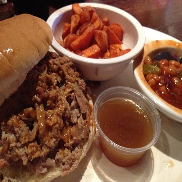 Pork BBQ @ 17th Street Bar & Grill