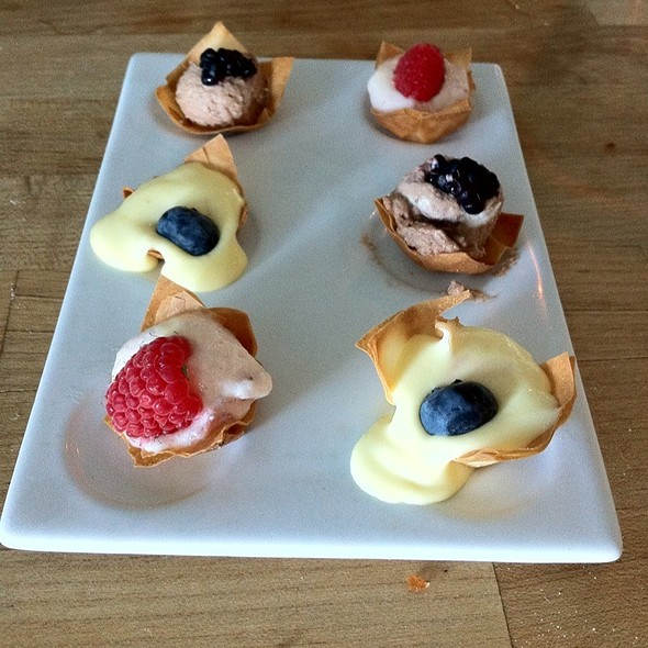 Dessert Tartlets - Open Kitchen, Falls Church, VA
