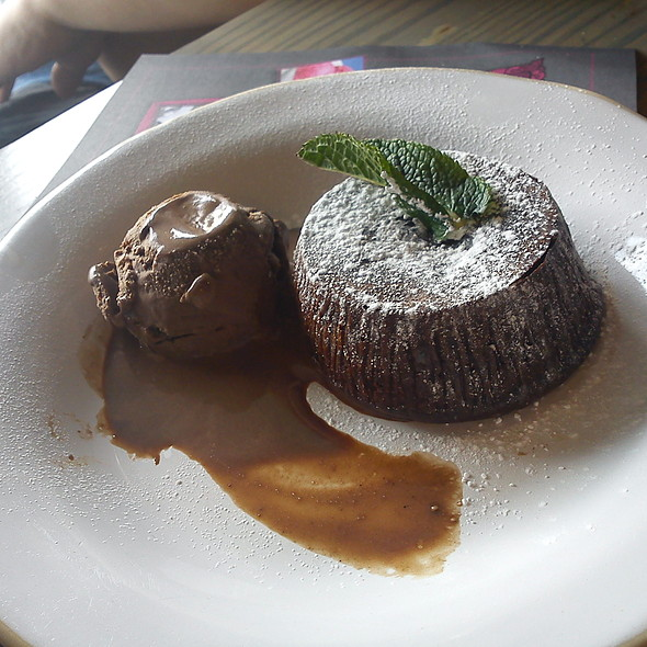 Chocolate Melt @ Zizzi - Bankside