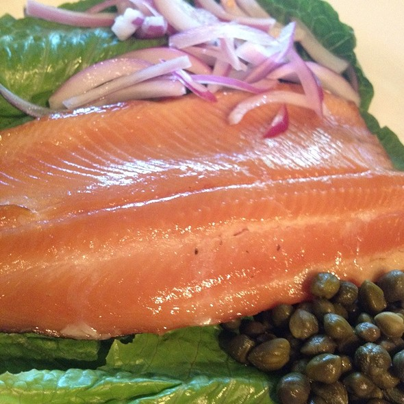 Cold Smoked Trout - Michael Forbes Bar & Grille, Kansas City, MO