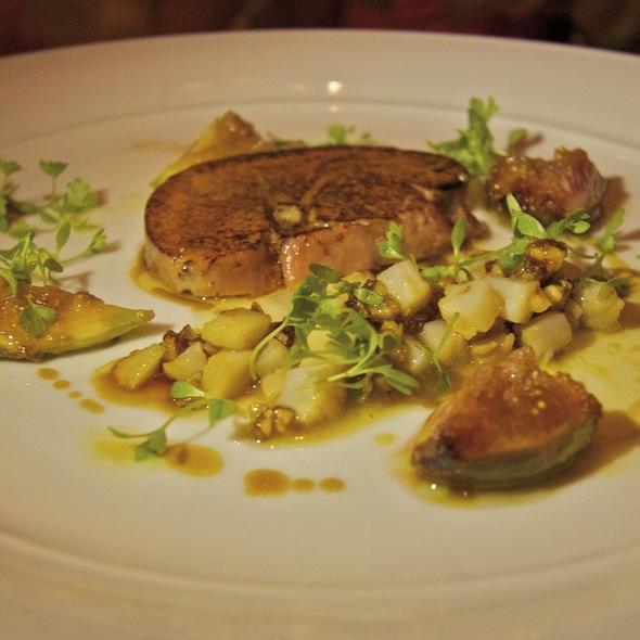 Foie Gras @ Glass Brasserie