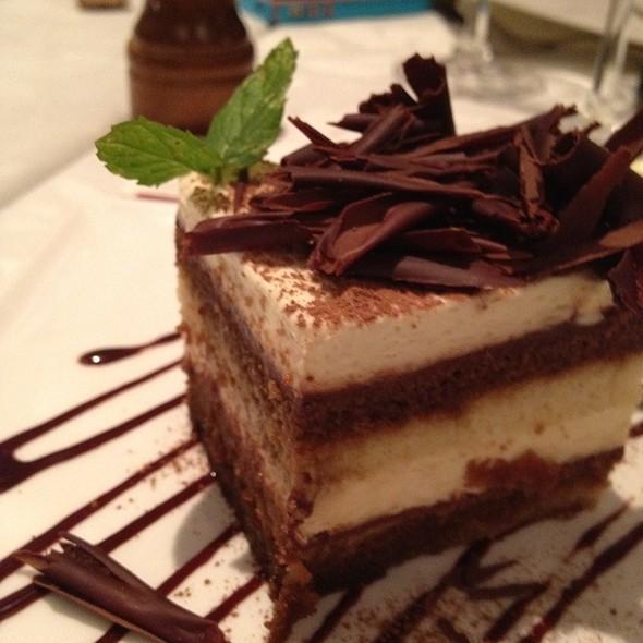 Tiramisu @ Restaurant Nora