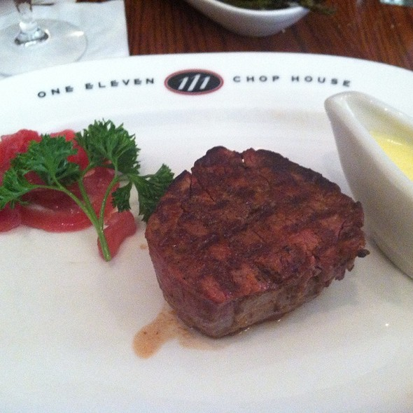 Filet Mignon - 111 Chop House, Worcester, MA