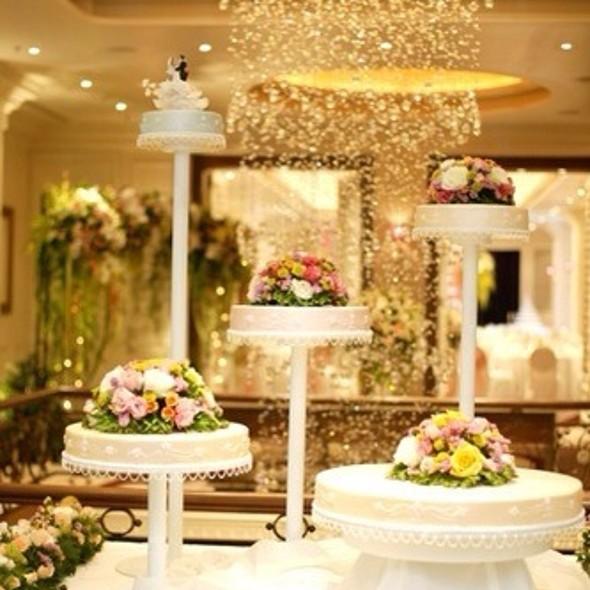 Wedding Cake @ Lebua Hotel at State Tower   โรงแรมเลอบัว แอท สเตททาวเวอร์