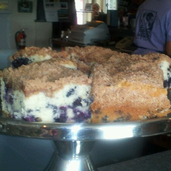 Blueberry Coffee Cake @ Fred's Breakfast