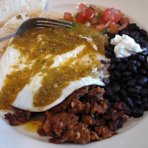 Huevos rancheros @ Liberty Cafe The