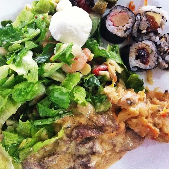 Salada @ Restaurante do Walmor