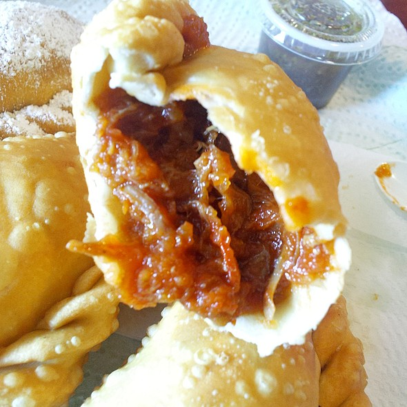Texan Barbeque Empanada @ The Original Marini's Empanada House