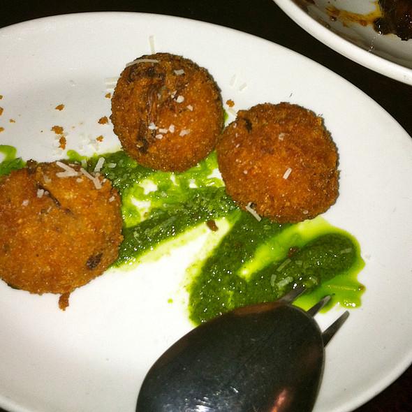 Wild Mushroom Arancini - Tryst Restaurant, Arlington, MA