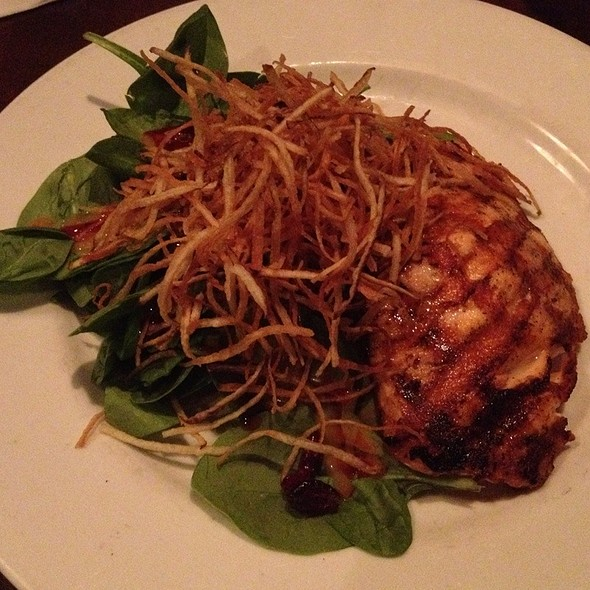 Salmon and Goat Cheese Salad - Frankie Bones Restaurant & Lounge - Hilton Head Island, Hilton Head Island, SC