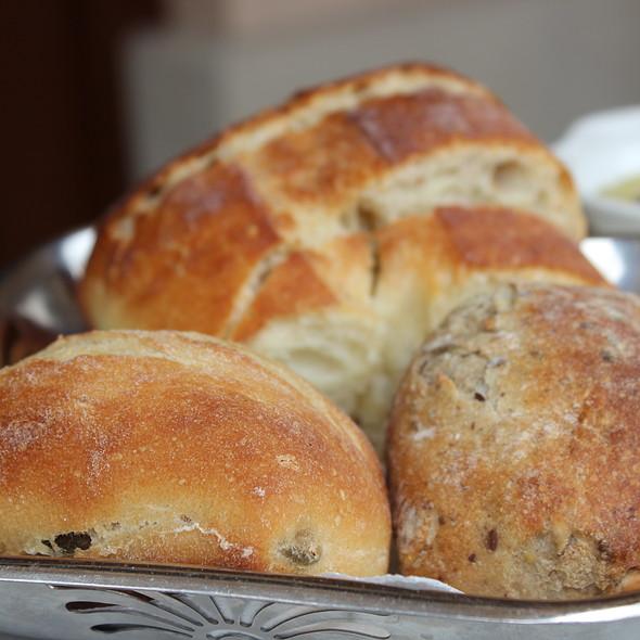Multigrain, Olive and Ciabatta loaves - Canaletto Ristorante Veneto, Newport Beach, CA