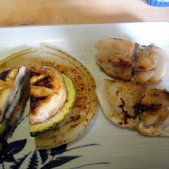 Teppan Veggies & Gyoza @ Sakura Japans Restaurant