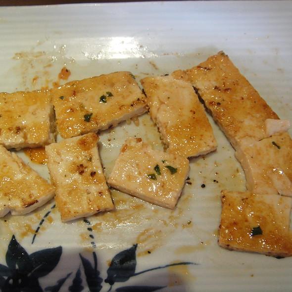 Teppanyaki Tofu Steak @ Sakura Japans Restaurant