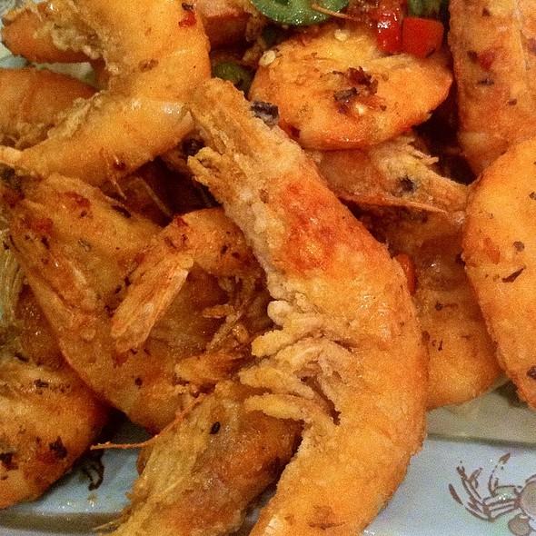 Salt & Pepper Shrimp @ Ok Restaurant