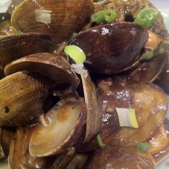 Clams in Black Bean Sauce @ Ok Restaurant