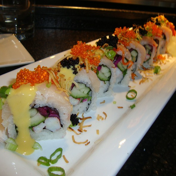 Orange Crush - Specialty Roll - Japonessa Sushi Cocina, Seattle, WA
