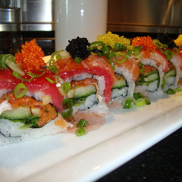"""""""Tres Diablos"""" Roll - Japonessa Sushi Cocina, Seattle, WA"""