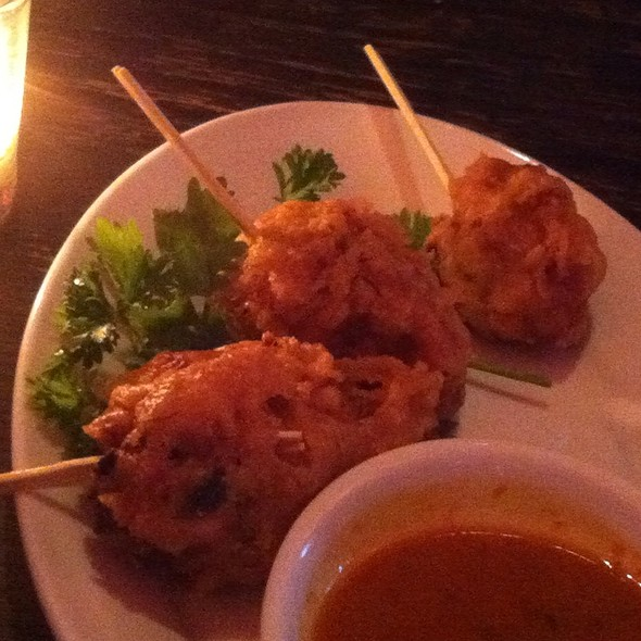 Chicken And Shrimp Lollipops