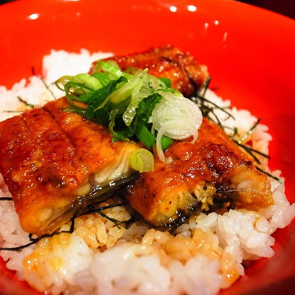 Grilled Eel over Rice @ Ippudo