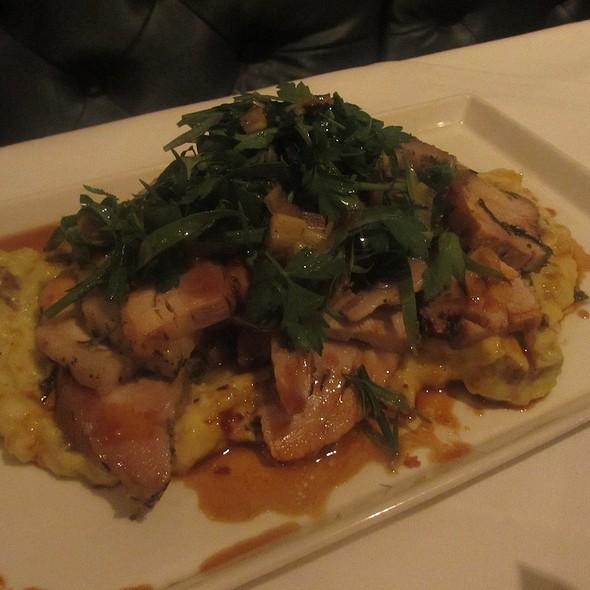 Porchetta Pork with Italian Polenta - Vie, Western Springs, IL