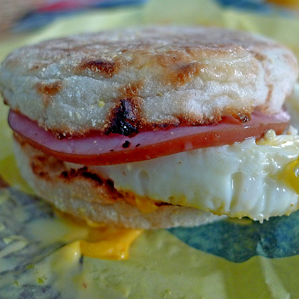 Egg McMuffin Breakfast Sandwich @ McDonald's