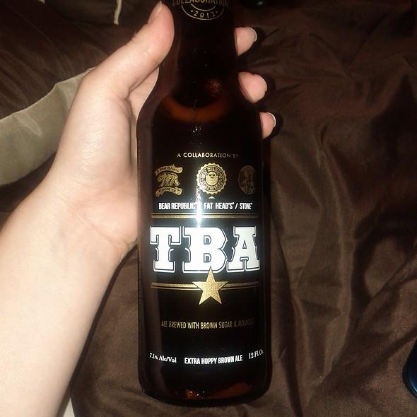 TBA brown ale @ no place